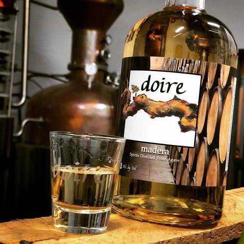 "Madera - Our ""Reposado"" 100% blue agave spirit"