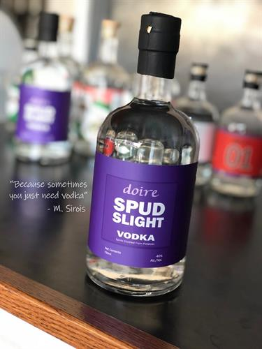 Spud Slight Vodka - Vodka made with 2-row and potatoes