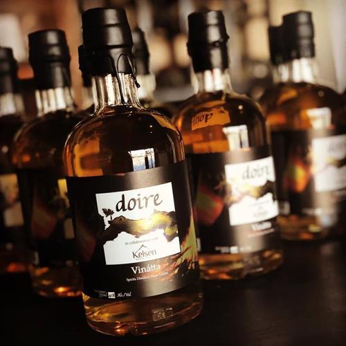 Vinatta - Collaboration bier schnapps aged in American oak