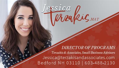 Jessica Terzakis, Sr. Vice President