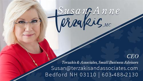 Susan Terzakis, Founder and CEO