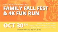 Member Event: The Orchard's Annual Fun Run & Fall Fest