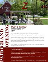 ZORVINO VINEYARDS PATIO GRAND OPENING Ribbon cutting ceremony and celebration for the new outdoor space on June 27, 2019