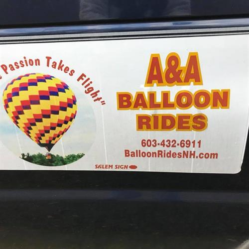 Our balloon trailer