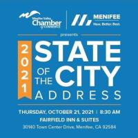 Menifee 2021 State of the City Address
