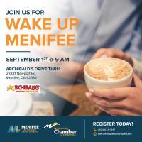 Wake Up Menifee at Archibald's Drive-Thru