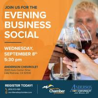 Evening Business Social at Anderson Chevrolet
