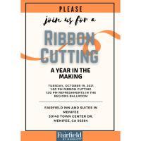 Multi-Chamber Ribbon Cutting at Fairfield Inn & Suites in Menifee