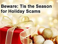 Tis the Season for SCAMMERS
