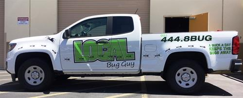 Vehicle Lettering and Spot Graphics