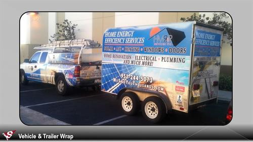 Commercial Truck Wraps and Graphics