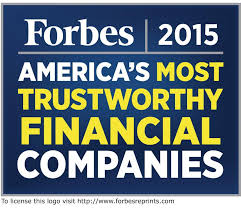 Primerica is one of Forbes Magazines 50 most trustworthy financial companies