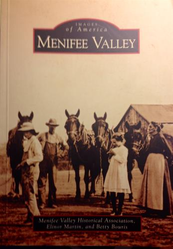 We are authors of the Menifee History Book. Available for purchase