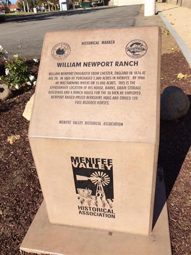 William Newport Monument