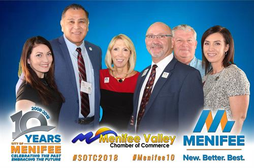 Menifee State of the City Address 2018 - Menifee Valley Chamber of Commerce