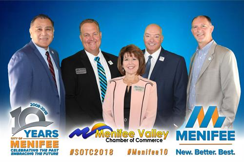 Menifee State of the City Address 2018 - City of Menifee