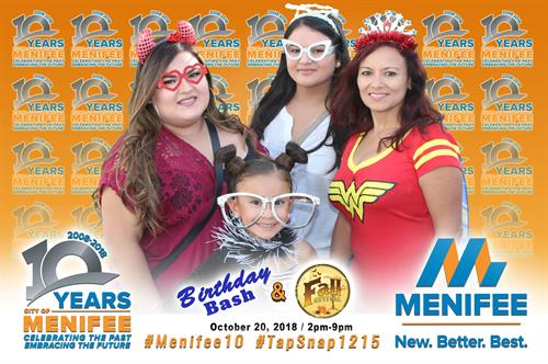 Menifee Birthday Bash 2018