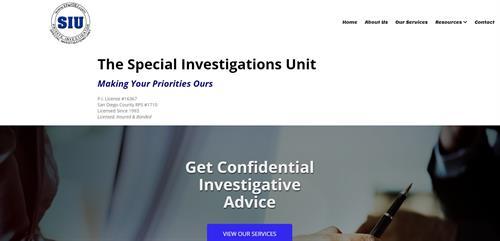 The SIU private investigations firm