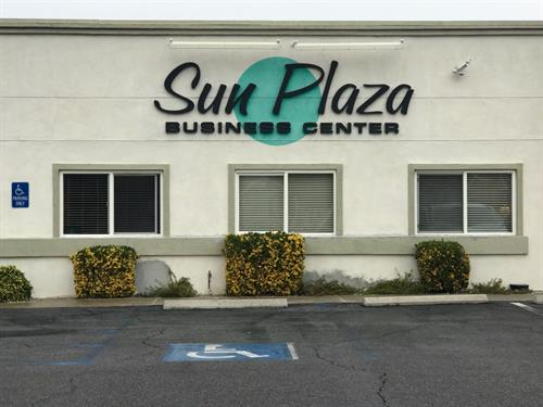 We are located in the Sun Plaza