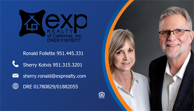 EXP Realty of California Sherry and Ron