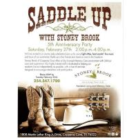 Saddle Up With Stoney Brook