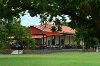 Enjoy our spacious patio and lush vineyards
