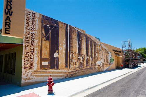 """Generations"" mural - 2nd and Western Street, Lampasas, TX"