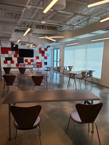 Meeting Room - classroom tables