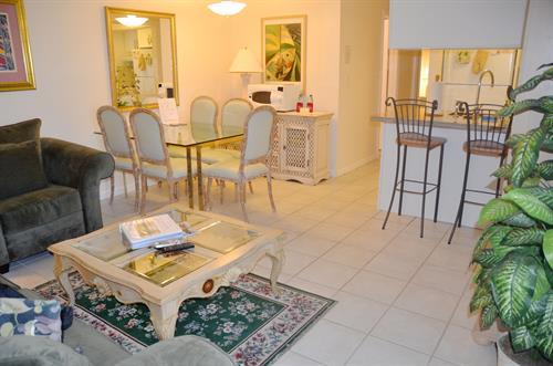 Sunny Place standard 1/1 livingroom