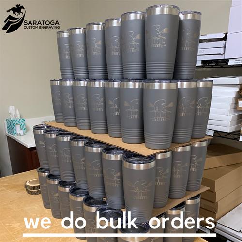 We do Bulk Orders