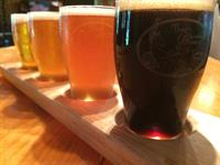 We also offer local craft beer on tap!