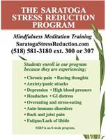 Saratoga Stress Reduction Program