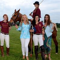 Sabine Rogers Polo and Jude Connally
