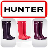 Hunter Boots in many colors
