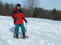 If there's snow, take advantage of over 10 miles of trails for snowshoeing, skiing, or hiking!