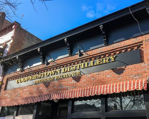 Cooperstown Distillery Beverage Exchange