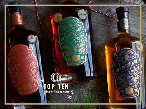 Cooperstown Distillery Premium Select Spirits