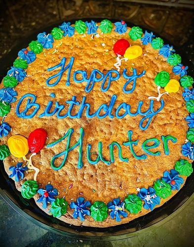"18"" cookie cake"