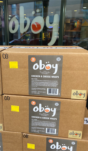 Take & Bake Oboys Available by the Case