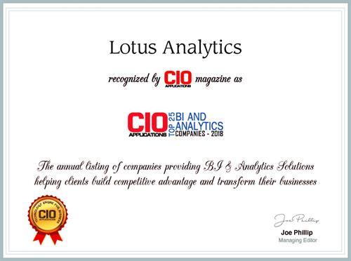 CIO Recognition Award