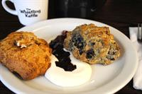 Whistling Kettle Scones with our desert cream
