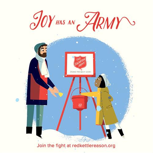 Joy has an Army. And you can be a part of it too!
