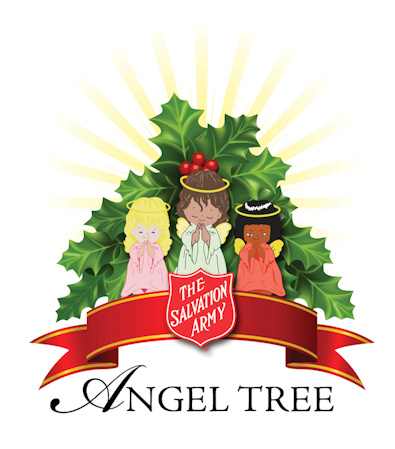 """Each year we provide Christmas toys to hundreds of local families. Could your business be a host site to collect toys or distribute """"angel tags""""?"""