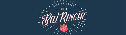 Being a Bell Ringer is a great way to share Christmas Cheer each year! Volunteer shifts range from 2-10 hours! Volunteer as a group or an individual to make a difference right here in you community.