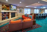 Sit down, relax, and gather with friends in the lobby sitting room.