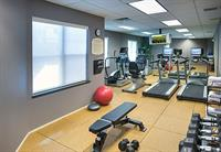 Don't let traveling interrupt your routine.  Our fitness center is open 24 hours a day.