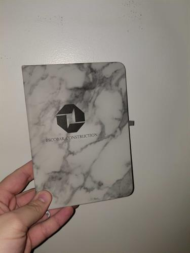 This is our Marbled Notebook that is great for schools and offices.