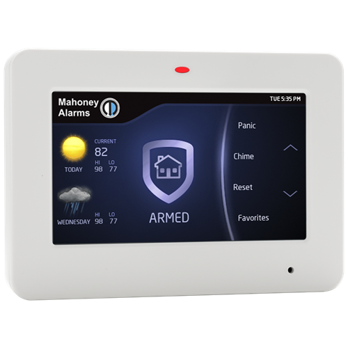 Customize an alarm system to fit your needs.