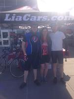 Lia Auto Group at the Saratoga Tour de Cure 2015