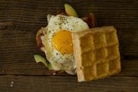 Egg Sandwich waffle